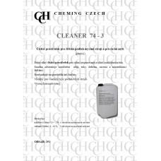 Cleaner 74-3  25 l